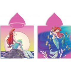 Princess Disney hooded bath poncho