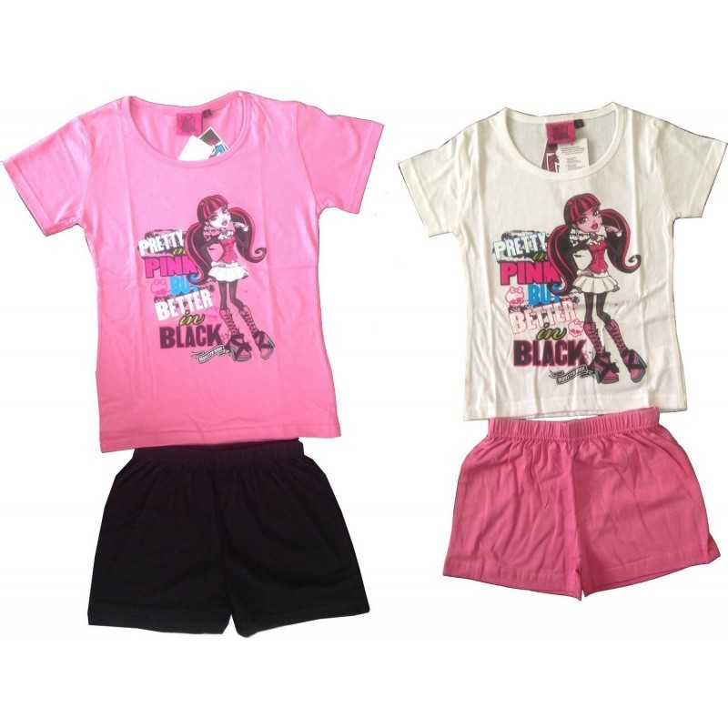 Monster High short pajamas