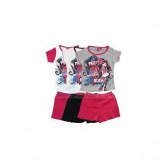 Kurzer Schlafanzug Monster High -830-125