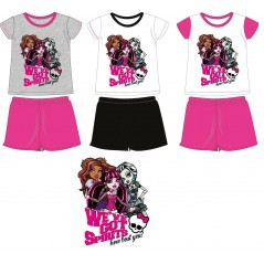 Monster High short pajamas -830-128