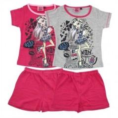 Kurzer Schlafanzug Monster High -830-081