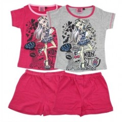Pyjama court Monster High -830-081