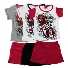 Kurzer Schlafanzug Monster High -830-130