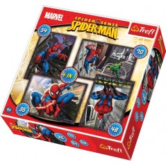 Spiderman Puzzle - 4in1 Puzzle