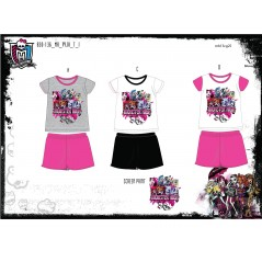 Short pajamas Monster High -830-136