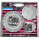 Set de petit déjeuner Monster High 3pcs