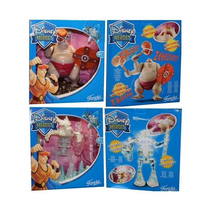 Set de figuritas de disney + accesorios.