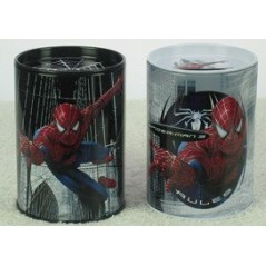 Tirelire Spiderman 3 ou pot à crayons Spiderman 3