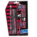 Set Papeterie 4 pièces Monster High