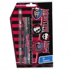 Monster High 4-Piece Stationery Set