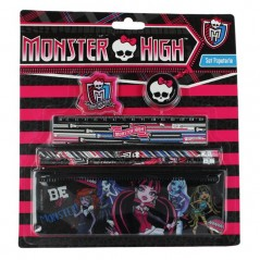 Monster High Set Papeterie 6 pièces Monster High