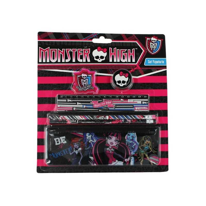 Monster High Set Stationery 6 Pieces Monster High