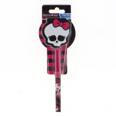 Notepad Skull and Monster High ballpoint pen