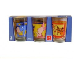 Winnie glass pack of 3