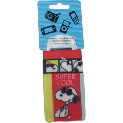 snoopy cover, protective sock for mobile phone