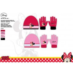 Minnie Disney Hat and Gloves Set