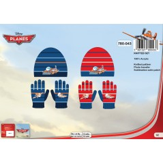 Set Beanie and gloves Planes Disney