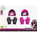 Monster High hat and gloves set