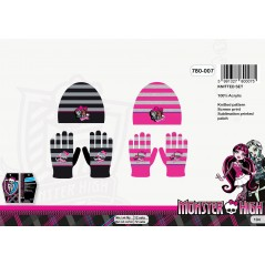 Beanie gloves Monster High - 780-007