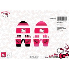 Hello Kitty Hat and Gloves Set -780-025