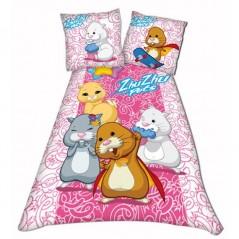 ZHU ZHU PETS - bed linen Pink