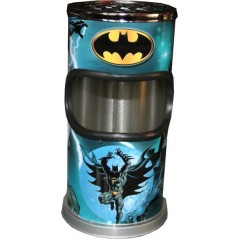 Corbeille cendrier Batman en métal