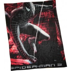 Plaid polaire spiderman 3