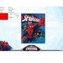 Plaid polaire Spiderman - 720-011
