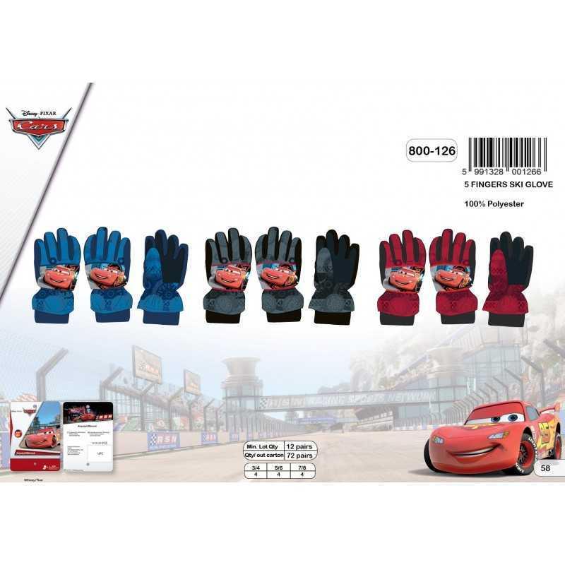 Cars- Guantes de esquí Disney Cars - 800-126