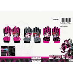 Monster High- Guantes de esquí Monster High - 800-080
