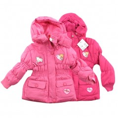 Hello Kitty Parka Capuche Pour Fille - 850-028