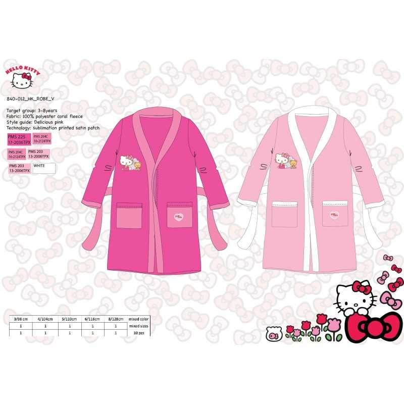 Bathrobe night-very sweet Hello Kitty - 840-012