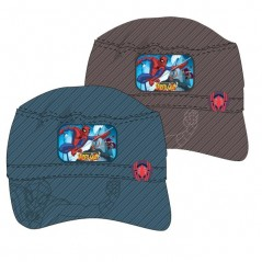 Cap with ear flap - spiderman