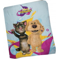 Talking Friends fleece blanket - 130x 160cm