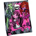 Couverture coral fleece - Monster High -Très doux
