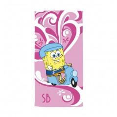 Sponge Bob Strandtuch 76x152 cm 100% Baumwolle