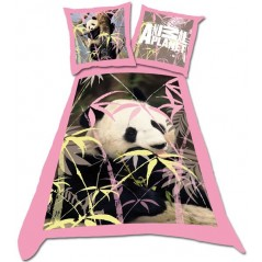 Parure HOUSSE DE COUETTE ANIMAL PLANET -140x200cm et Taie Animal Planet