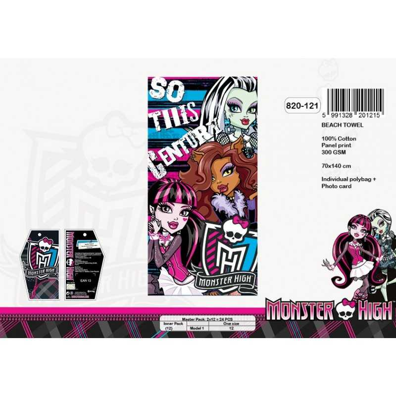 Monster High cotton beach towel - 820-121