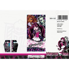 Monster High cotton beach towel - 820-122