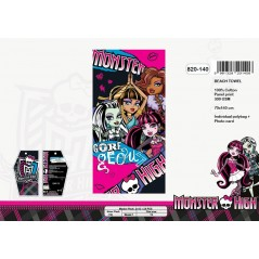 Monster High cotton beach towel - 820-140