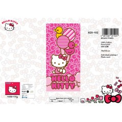Drap de Plage Hello Kitty - 820-102