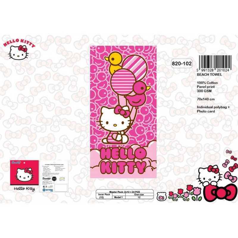 Hello Kitty Strandtuch aus Baumwolle - 820-102