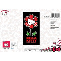 Drap de plage Hello Kitty - 820-172