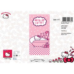 Hello Kitty cotton beach towel - 820-177