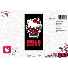 Drap de Plage Hello Kitty - 820-178