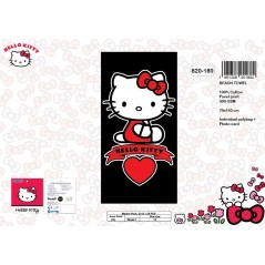 Drap de plage Hello kitty - 820-180