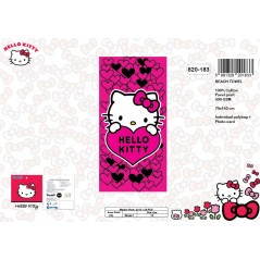 Drap de plage Hello Kitty - 820-183