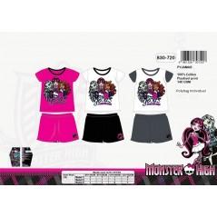 Kurzer Schlafanzug Monster High 830-720