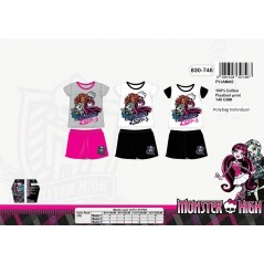 Pyjama court Monster High 830-748