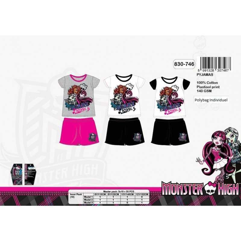 Krótka piżama Monster High 830-748